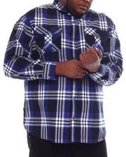 Big & Tall Faves - Yarn Dyed Plaid Woven Shirt (B&T)-2561634