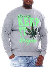 Sweatshirts & Sweaters - Keep It Original Weed Sweatshirt (B&T)-2561137