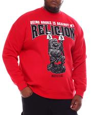 Sweatshirts & Sweaters - Being Broke Is Against My Religion Sweatshirt (B&T)-2561379