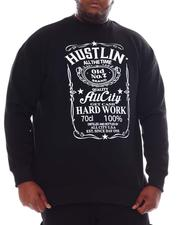 Sweatshirts & Sweaters - Hustlin All The Time Sweatshirt (B&T)-2561422