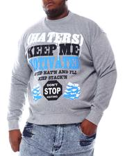 Sweatshirts & Sweaters - Haters Motivate Me Sweatshirt (B&T)-2561508