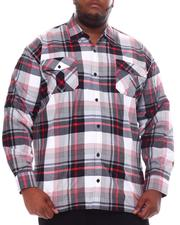 Button-downs - Yarn Dyed Plaid Woven Shirt (B&T)-2561556