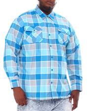 Button-downs - Yarn Dyed Plaid Woven Shirt (B&T)-2561572