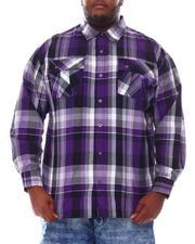 Button-downs - Yarn Dyed Plaid Woven Shirt (B&T)-2561624