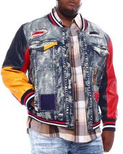 Denim Jackets - Varsity Denim Jacket (B&T)-2561700