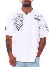 Buyers Picks - Henley Military Printed T-Shirt (B&T)-2562194