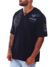Buyers Picks - Henley Military Printed T-Shirt (B&T)-2562203
