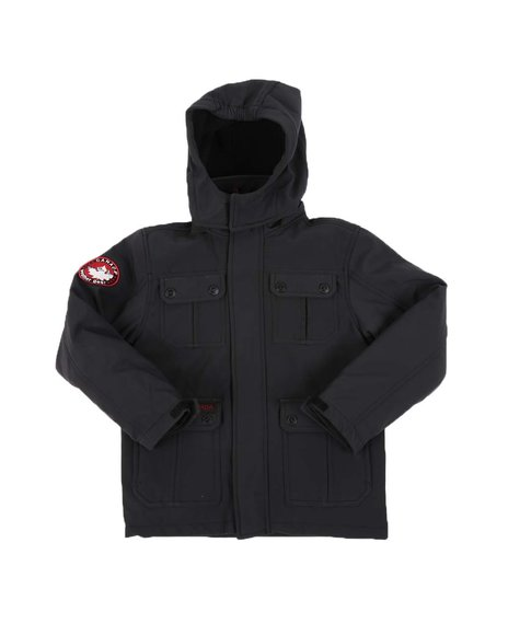 Canada Weather Gear - Soft Shell Hooded Jacket (8-20)