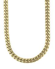 """Jewelry & Watches - 26"""" Miami Cuban Link Chain 8MM - Gold-2562301"""