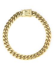 Jewelry & Watches - Miami Cuban Link Bracelet 8MM - Gold-2562384