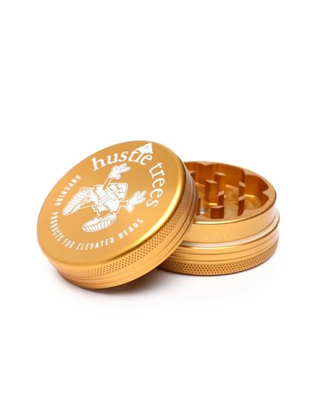 LRG - Hustle Trees Small 2 Piece Gold Grinder