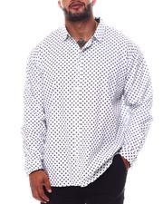 Button-downs - Printed Long Sleeve Woven Shirt (B&T)-2562464