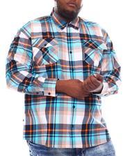 Buyers Picks - Yarn Dyed Plaid Woven Shirt (B&T)-2561548