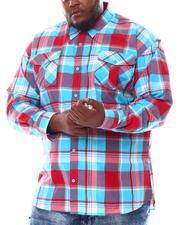 Buyers Picks - Yarn Dyed Plaid Woven Shirt (B&T)-2561560