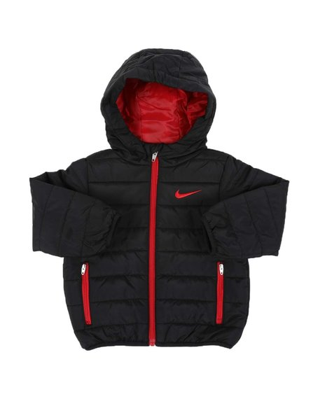 Nike - Quilted Hooded Jacket (2T-4T)