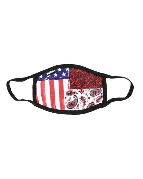 PSD UNDERWEAR - Vintage Americana Face Mask (Unisex)