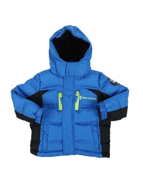 Free Country - Hooded Puffer Jacket (2T-4T)
