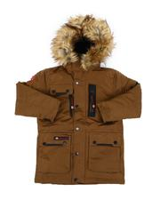 Canada Weather Gear - Hooded Parka Jacket W/ Faux Fur Trim (8-20)-2560771