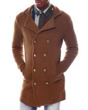 Stylist Picks - Double Breast Knit Coat w Peak Lapel-2560084