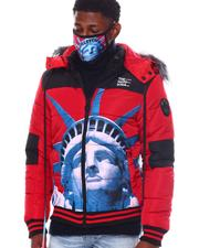 Men - NY Strong Puffer Coat w Mask-2563895