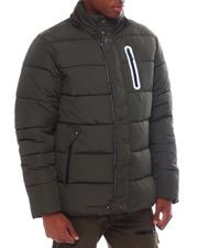 Men - HEAVY BUBBLE PARKA JACKET W/ REFLECTIVE ZIPPER POCKET-2563771