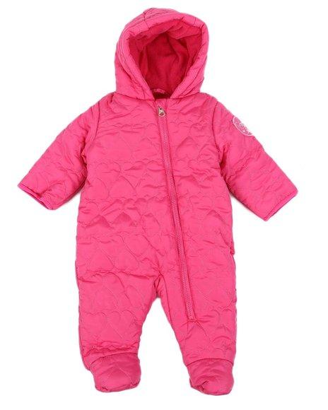 Jessica Simpson - Quilted Snowsuit Pram (Infant)