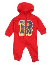 One Pieces - Varsity Logo Hooded Coverall (Infant)-2559728