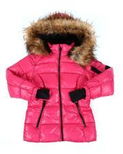 Diesel - Faux Fur Trim Hooded Puffer Jacket (7-16)-2560841