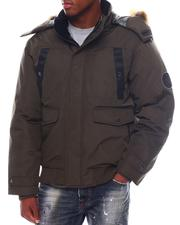 Holiday Shop - HEAVY PARKA BOMBER JACKET W/ SNORKEL HOODIE-2563598