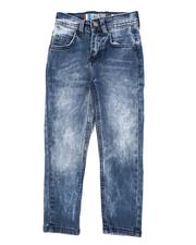 Arcade Styles - Washed 5 Pocket Stretch Jeans (4-7)-2559794