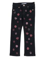 Girls - Doodle Skinny Jeans (4-6X)-2560244