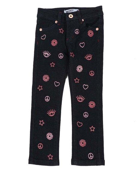 Kensie Girl - Doodle Skinny Jeans (4-6X)
