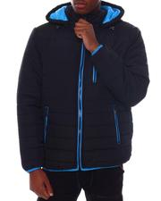 Heavy Coats - BUBBLE BOMBER JACKET WITH CONTRAST TRIM-2561402