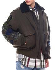 Outerwear - WOOL MELTON MULTI PATCH JACKET-2564079