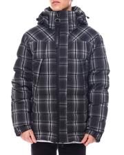 KARL LAGERFELD PARIS - Plaid Ski Jacket-2561245