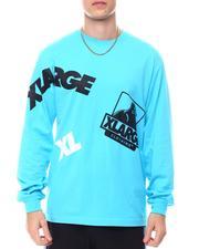 X-LARGE - RANDOM PRINT LS TEE-2564180