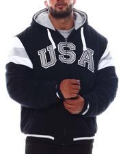 Big & Tall Faves - USA Padded & Hooded Zip Up Jacket (B&T)-2562770