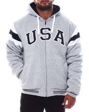Buyers Picks - USA Padded & Hooded Zip Up Jacket (B&T)-2562780