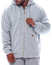 Men - Sherpa Lined Hoodie (B&T)-2562760