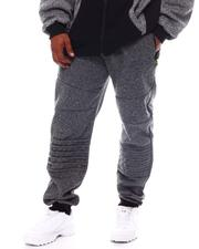 Big & Tall Faves - Ribbed Knee Fleece Joggers (B&T)-2562820