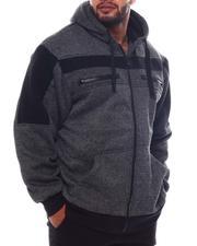 Light Jackets - Sherpa Hoodie (B&T)-2562856