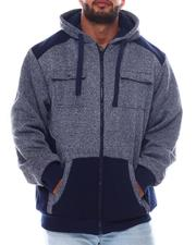 Men - Chest Pocket Zip Up Hoodie (B&T)-2562872