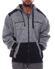 Light Jackets - Chest Pocket Zip Up Hoodie (B&T)-2562876
