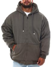 Men - Full Zip Hoodie Jacket (B&T)-2562884