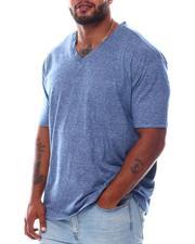Buyers Picks - Melange V-Neck S/S Tee Shirt (B&T)-2563958