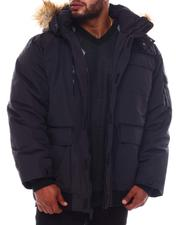 Rocawear - Hooded Parka Bomber Coat (B&T)-2563962