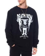 Crooks & Castles - Crooks X Death Row Core Logo Crewneck Sweatshirt-2564089