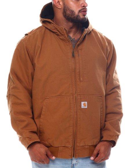 Carhartt - Duck Fleece Lined Active Hooded Jacket (B&T)