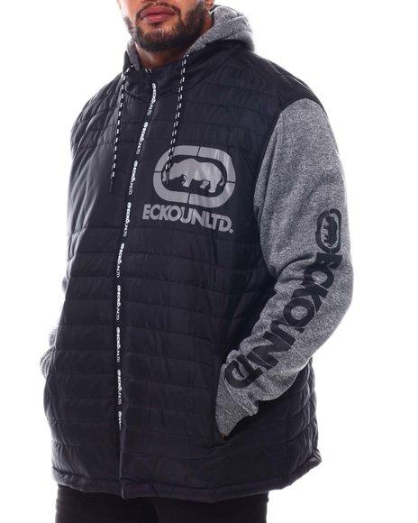 Ecko - Zip Me Up Hybrid Jacket (B&T)