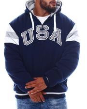 Buyers Picks - USA Padded & Hooded Zip Up Jacket (B&T)-2562755